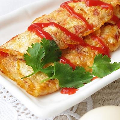 番茄鸡蛋卷