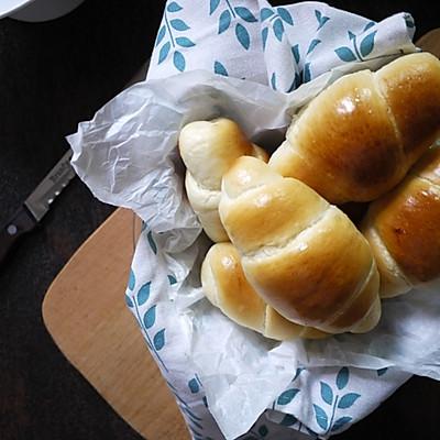 经典黄油面包卷