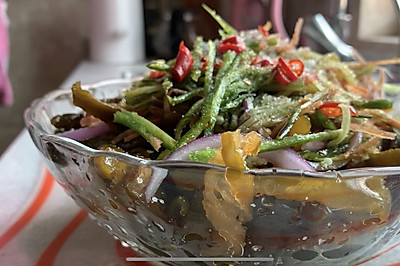 绿色营养凉拌海茸