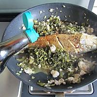 雪菜黄鱼的做法图解9