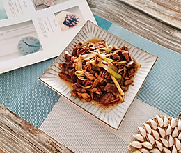 #花10分钟,做一道菜!#家常小炒腰花的做法