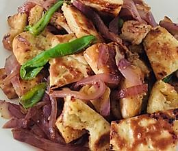 馕炒肉(一人食)的做法
