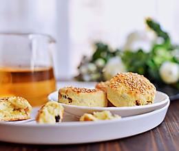 #快手又营养,我家的冬日必备菜品#蜜红豆司康的做法