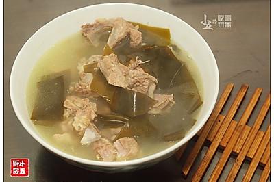 海带排骨汤:汤鲜味美的家常靓汤