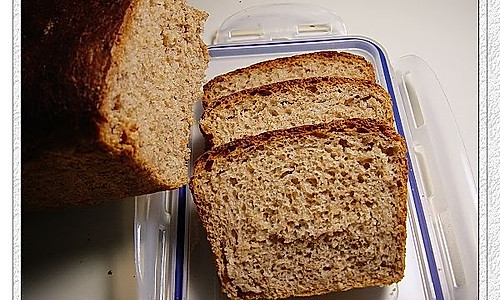 5分钟面包全麦软吐司的做法