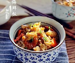 胡萝卜海鲜饭的做法
