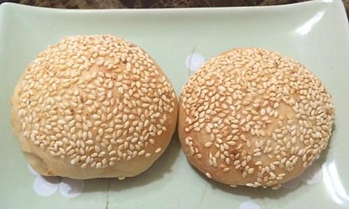 芝麻脆皮烤饼的做法