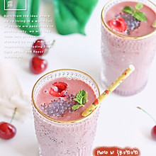 樱桃椰汁西米露