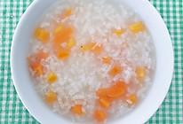 香油胡萝卜粥的做法