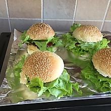 自制汉堡O添加