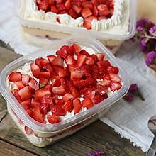 草莓蛋糕盒子
