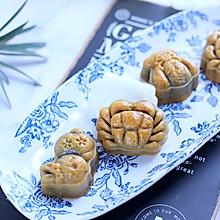黑麦陈皮豆沙月饼