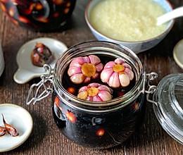 我家传统开胃小菜:甜蒜的做法