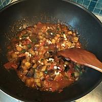 茄丁打卤面的做法图解5