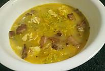 黄花菜肉片汤的做法