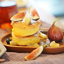 西点-舒芙蕾松饼|舒芙蕾和松饼的完美结合,不用烤箱就能轻松做