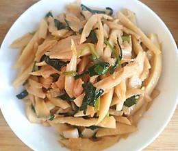 韭菜炒藕的做法