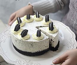 【奥利奥冻芝士蛋糕】拯救新手的免烤美味甜点的做法