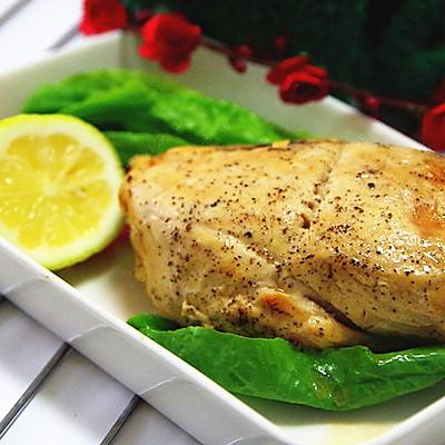 圣诞烤鸡肉