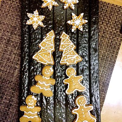 圣诞姜饼人—无色素版