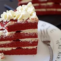 美味的红丝绒蛋糕的做法图解21