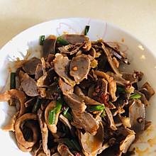 夏季爽口下饭菜凉拌鸡胗鸭肠
