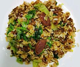10分钟快手菜—渣海椒炒饭的做法