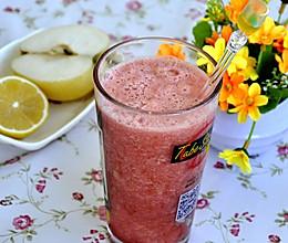 草莓水蜜桃菠萝汁的做法