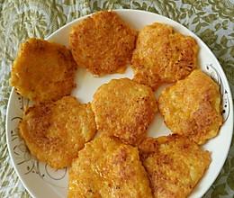 胡萝卜虾肉饼的做法