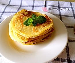 香蕉牛奶松饼的做法