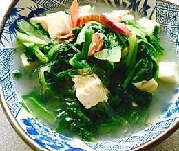 腊肉香的小白菜炖豆腐的做法