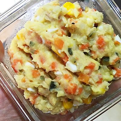 西餐鸡蛋土豆泥