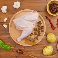 大盘鸡|美食台的做法图解1
