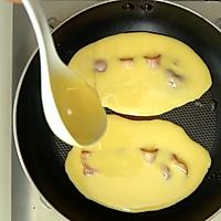 小羽私厨之培根煎饼的做法图解5