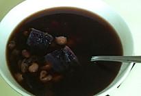 紫薯红豆薏米糖水的做法