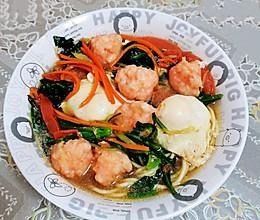 口味捞多彩虾滑的做法