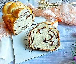 春风轻柔云石豆沙吐司(面包机版)的做法
