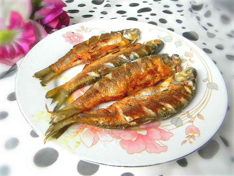 舌尖上的美食——油煎华子鱼