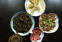 口蘑炒肉的做法