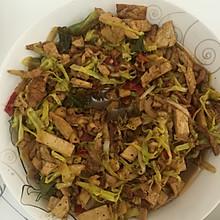 韭黄炒豆干
