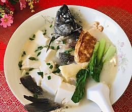 #中秋宴,名厨味#味美双蛋鱼汤的做法