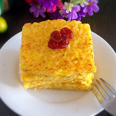 南瓜米饭煎蛋饼