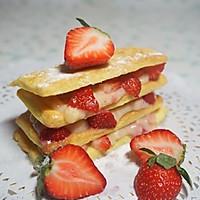 草莓拿破仑酥的做法图解10
