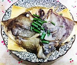 清蒸鸦片鱼头的做法