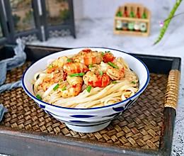 麻辣小龙虾拌面#硬核家常菜#的做法