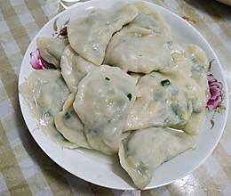 素饺子韭菜鸡蛋馅的做法