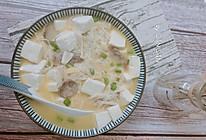 独家#金针菇烧豆腐  鲜嫩爽滑的小白快手菜的做法