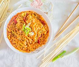 韩式辣炒面的做法