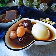 广式甜品:红枣桂圆鸡蛋糖水