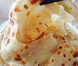 葱油千层饼的做法